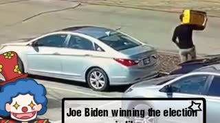 Joe Biden winning the election it's like...