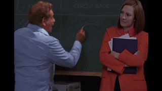 Jen Psaki Learns to Circle Back