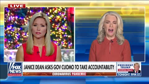 Cuomo Should Be In PRISON FOR LIFE - Janice Dean Breaks Down After Hearing REAL Covid Death #'s
