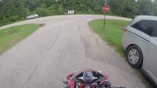 Motorcycle ride gopro