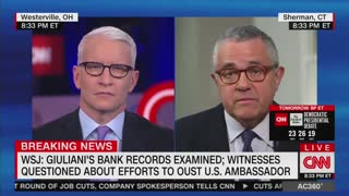 CNN's Jeffrey Toobin: Giuliani has not been charged with crime