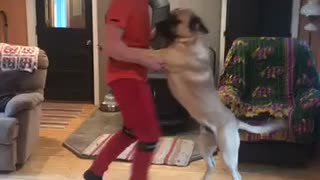 Dancing with my buddy