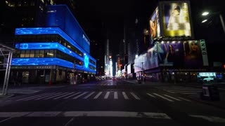 New York City Falls Eerily Silent