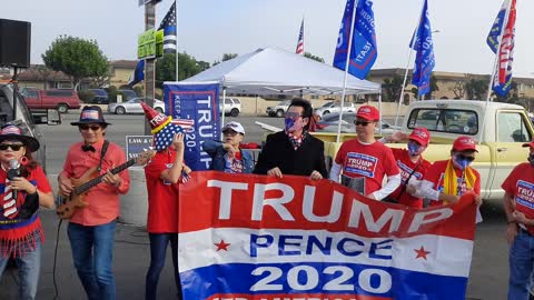 Vietnamese Americans for Trump in Orang county