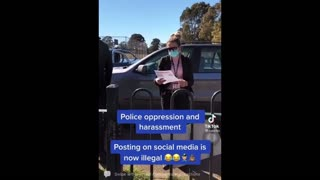 Australian Police Harass Woman Over Social Media Posts, Say She Can't Leave House To Protest