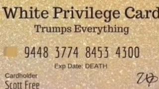 WHITE PRIVILEGE CARD FOR SALE