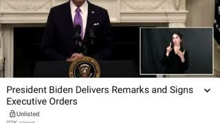 Hunter Biden's voice randomly appears on Biden speech