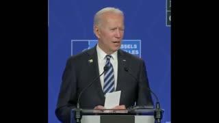 "Biden Calls Putin ""A Worthy Adversary"""