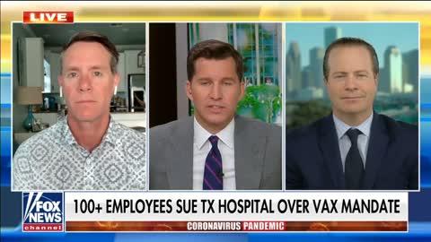 Texas hospital faces lawsuit over coronavirus vaccination mandate