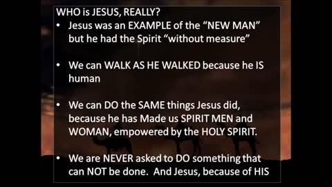 The True Identity of Jesus Part 4