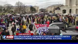 Multiple reports, eyewitness accounts indicate Antifa