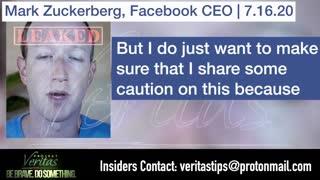 Exposed! Mark Zuckerberg questions Covid Vaccine