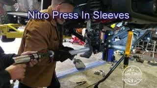 Offroad Tracks Nitro Sleeves Install