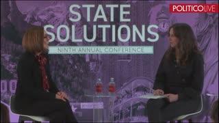 Oregon Gov. Kate Brown praises automatic voter registration