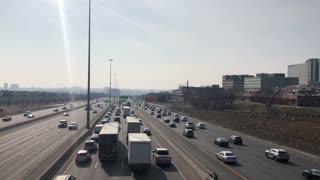Toronto Traffic Covid 19