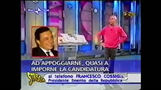 "MARIO DRAGHI?!... ""UN VILE AFFARISTA"" - PAROLA DI FRANCESCO COSSIGA."