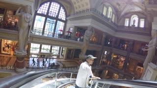 A walk-trough the Forum Shops at Caesars Palace in Las Vegas.
