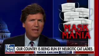 Tucker FINISHES Two-Faced Dems on Mask Mandates!