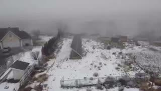Winter Solar Drone