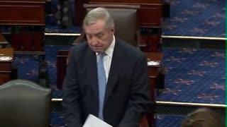 Durbin v Kennedy Tense Exchange On Senate Floor Over IMF Vouchers