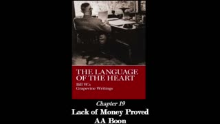 """The Language Of The Heart - Chapter 19: """"Lack of Money Proved AA Boon"""""""