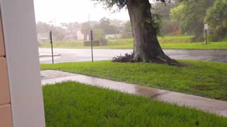 Summer Rainstorm in Florida