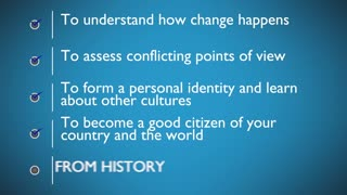 WHY YOU NEED TO KNOW HISTORY
