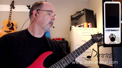 Pedal Review - Donner DT Deluxe Chromatic Tuner