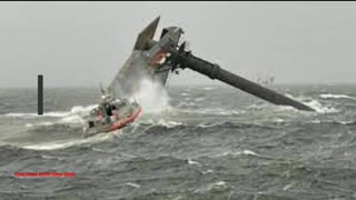 US Coast Guard: One Dead, 12 Still Missing After Commercial Ship Capsizes Off Louisiana Coast