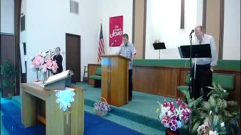 Pilate Sunday Morning Service