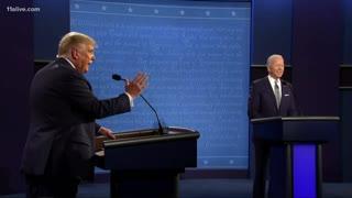 Trump and Biden Spar Over Healthcare