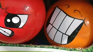 Two Different Balls with Different Emotions Descriptive Writing