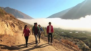 Chile Mountains Adventure.