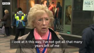Old lady makes a mockery of Government covid response