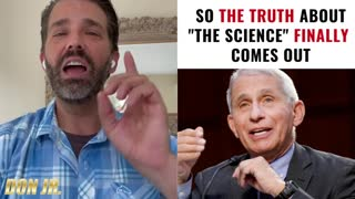 """Donald J Trump - So The Truth About """"The Science"""" Finally Comes Our"""
