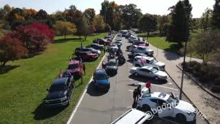 Michigan Cannonball rally for Trump