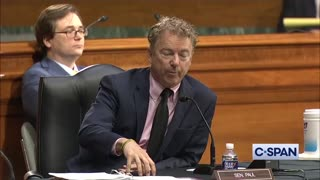 Dr. Fauci Evades Critical Questioning by Senator Rand Paul