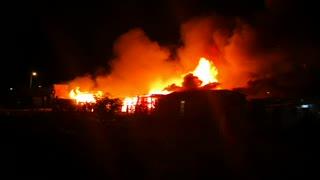 Incendio en chambacú