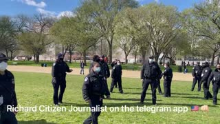 Richard Citizen Journalist Arrested by DC Capital Police