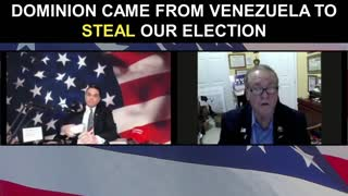 Dominion Came From Venezuela to STEAL Our Election
