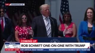 President Trump Brings up Gunned Down Veteran Ashli Babbit