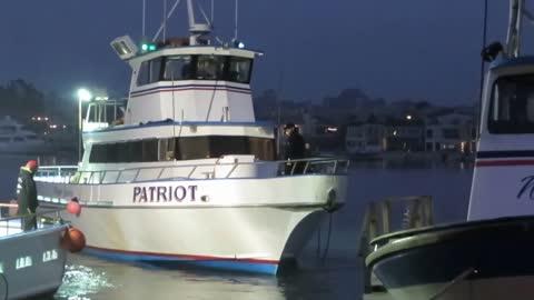 Deep Sea Fishing Boat Docking