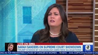 Sanders counters with Keith Ellison, Cory Booker when confronted about Trump backing Kavanaugh