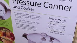 Prepping - Pressure Cooker