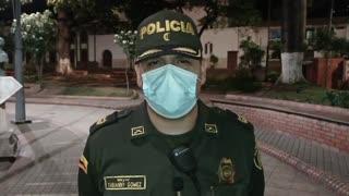 declaraciones policía Floridablanca tras accidente