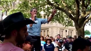 Beto O'Rourke hosts Texas voting rights rally