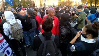 BLM rumble at Million MAGA rally Friday