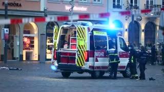 Cinco muertos, entre ellos un bebé, tras atropello intencionado en Alemania
