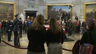 SEpelio George Bush en Estados Unidos