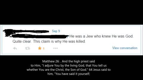 Why was Jesus killed?